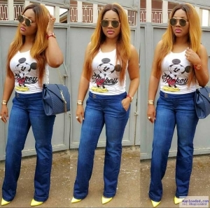 Actress Mercy Aigbe Steps Out Hot In New Photo